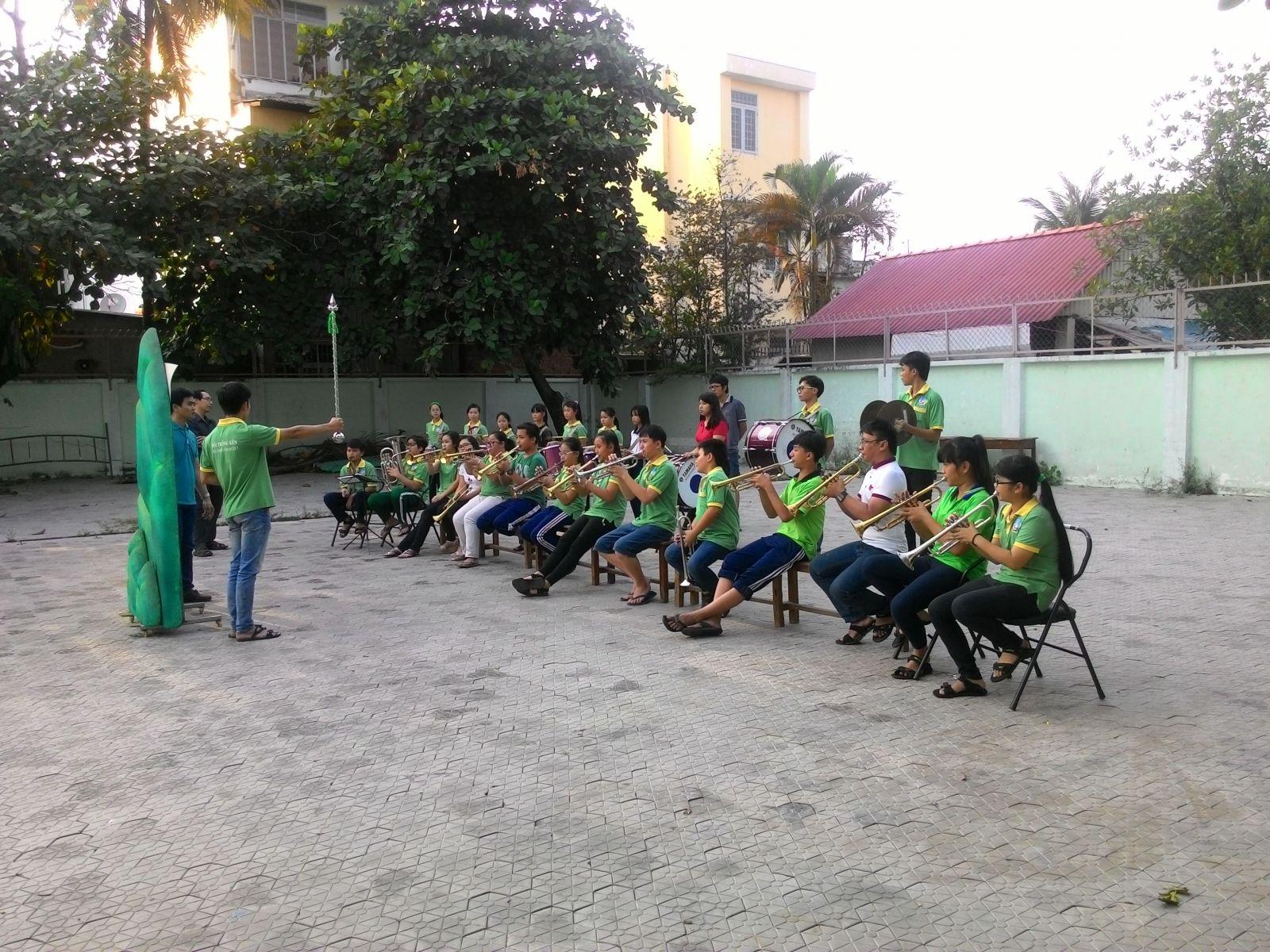 Sinh hoạt Đội Nghi lễ - Nhạc Kèn