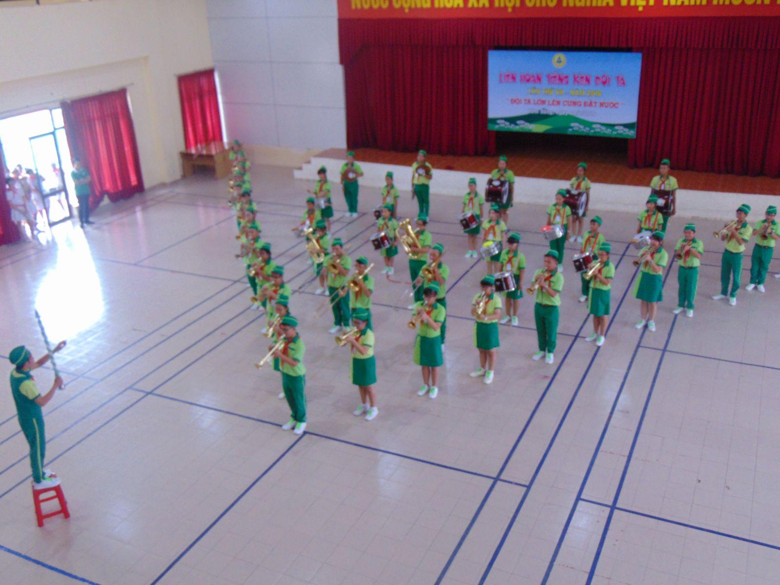 Liên hoan Tiếng Kèn Đội ta khu vực phía Nam tại Lâm Đồng Năm 2016