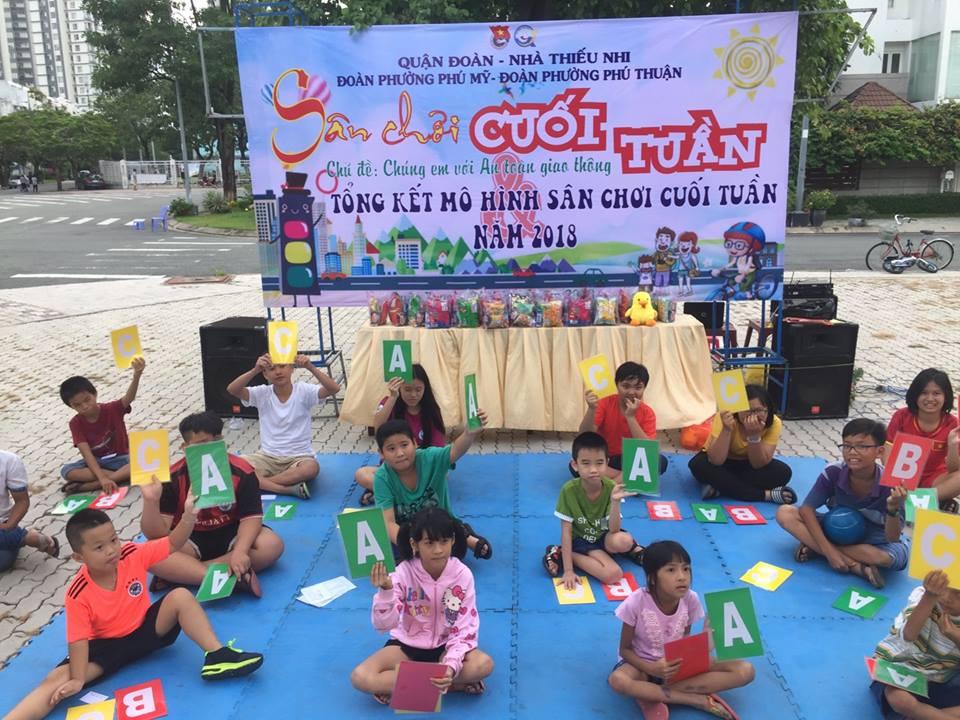 Sân chơi cuối tuần đợt 5 - Phường Phú Mỹ và Phú Thuận