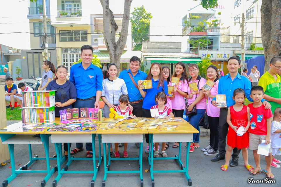 Phục vụ thiếu nhi hè năm 2019 tại Phường Tân Kiểng và Tân Hưng