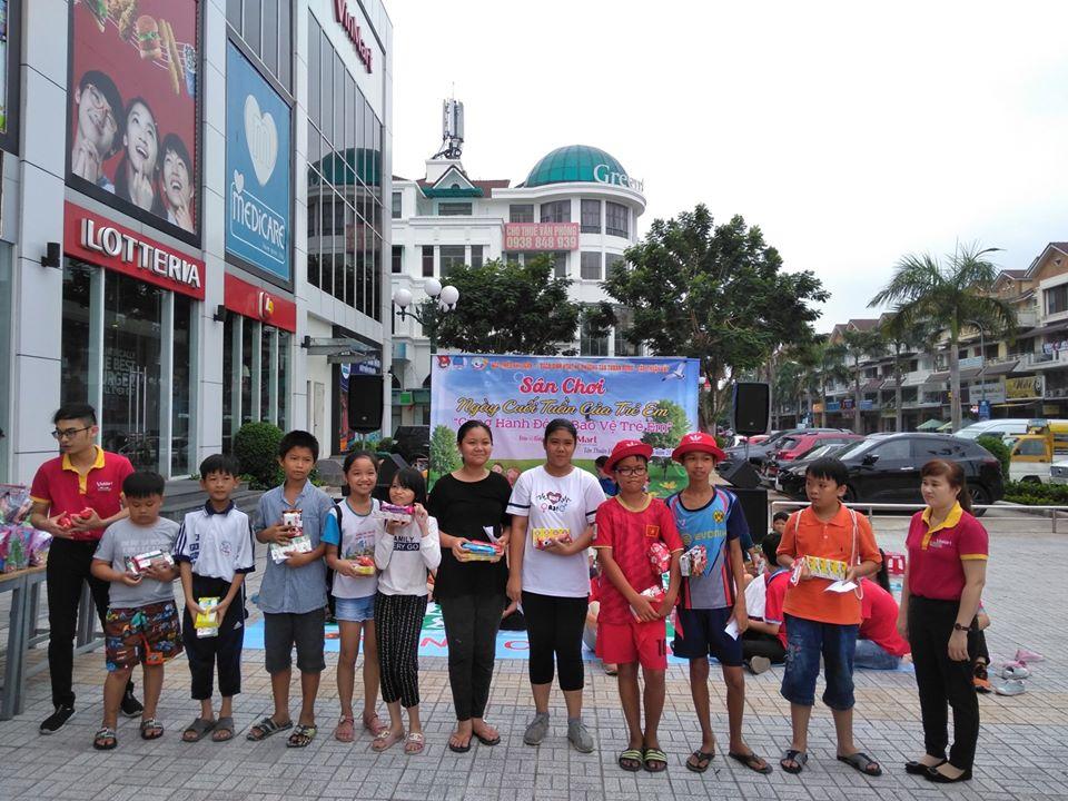 Phục vụ thiếu nhi hè năm 2019 tại Phường Tân Thuận Động và Tân Thuận Tây