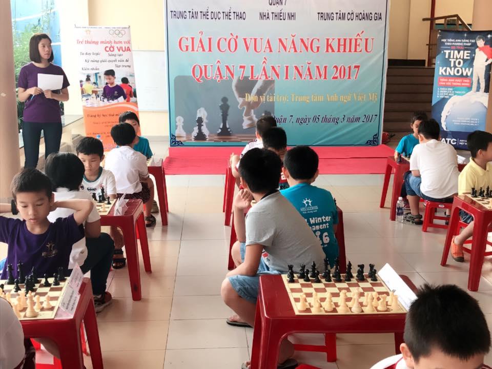 Tổ chức giải cờ vua năng khiếu Lần 1