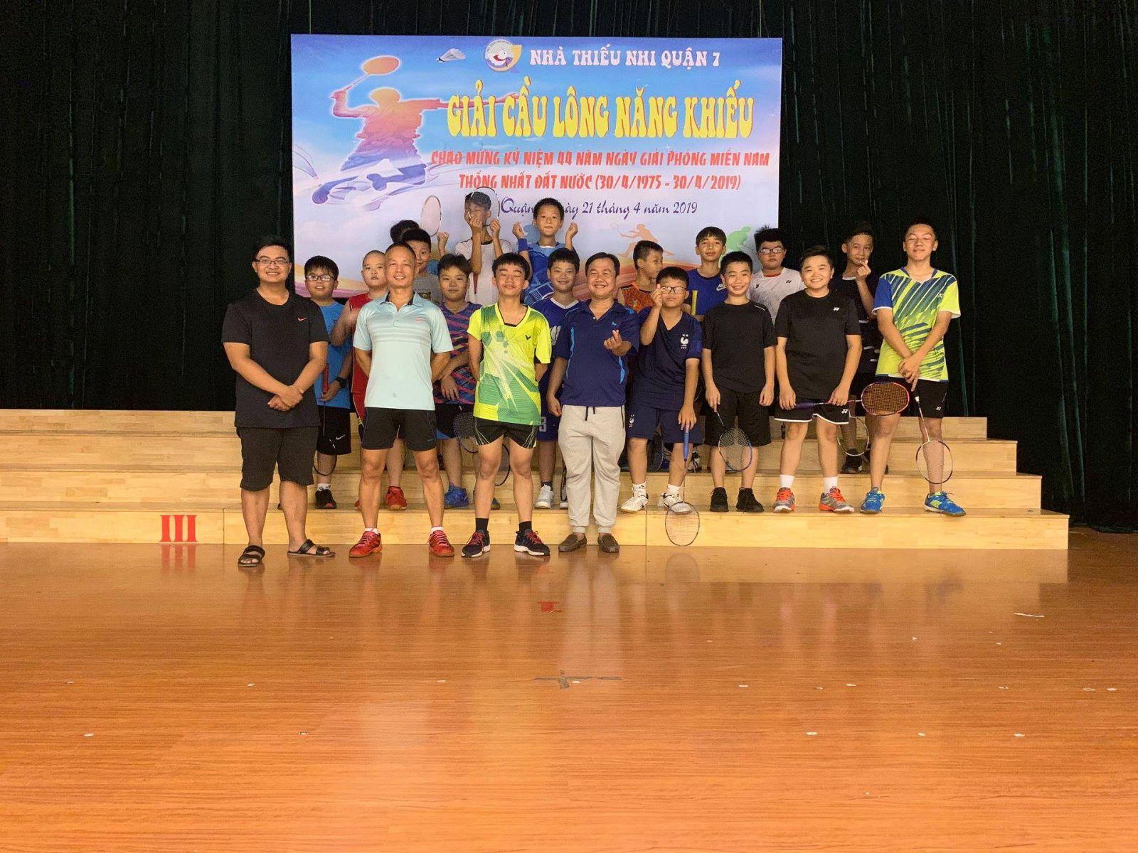 Giải cầu lông năng khiếu năm 2019