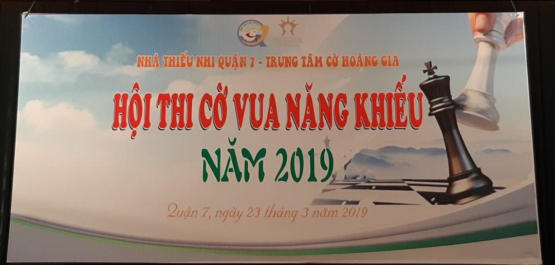 Hội thi cờ vua Năng khiếu 2019