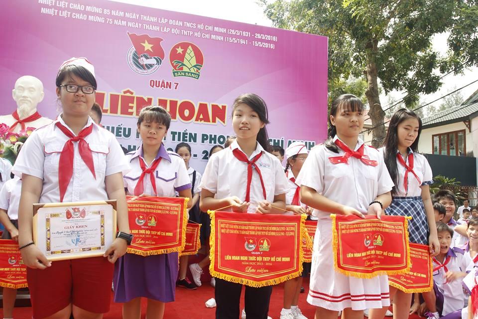 Hội thi nghi thức Đội TNTP HCM năm 2016