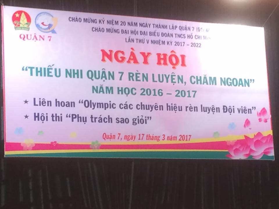 Liên hoan Olympic chuyên hiệu và phụ trách sao giỏi