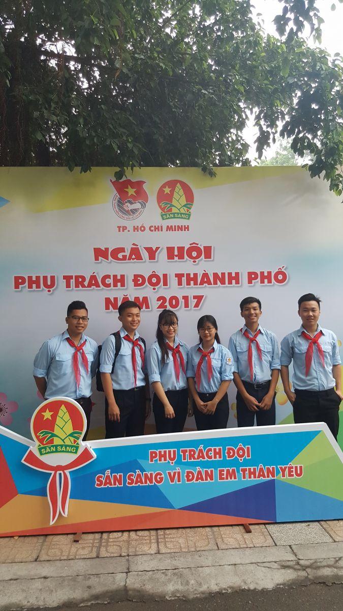 Tham gia Ngày hội phụ trách Đội toàn thành năm 2017