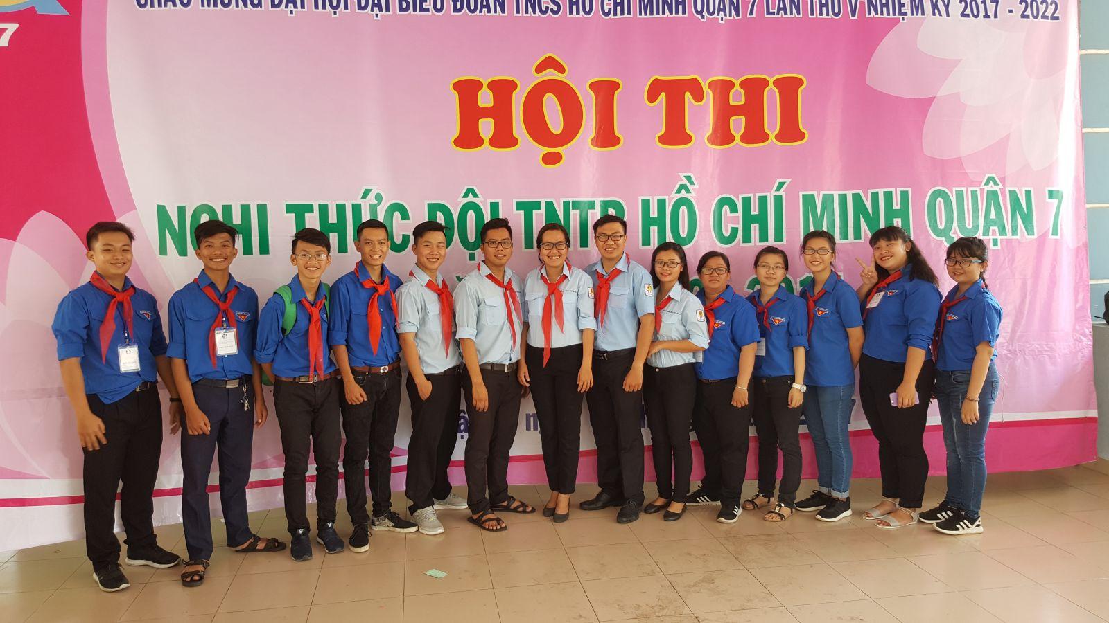 Hội thi Nghi thức Đội TNTP HCM năm 2017