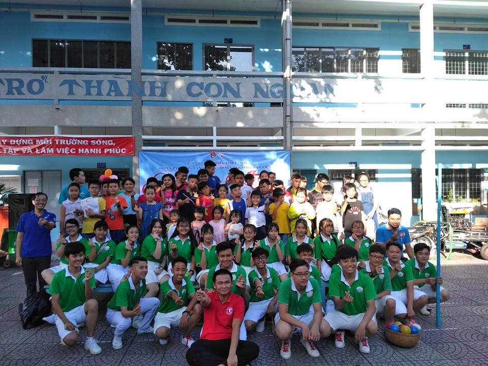 Tổ chức sân chơi cuối tuần Đợt 1 - Phường Tân Kiểng và Tân Quy