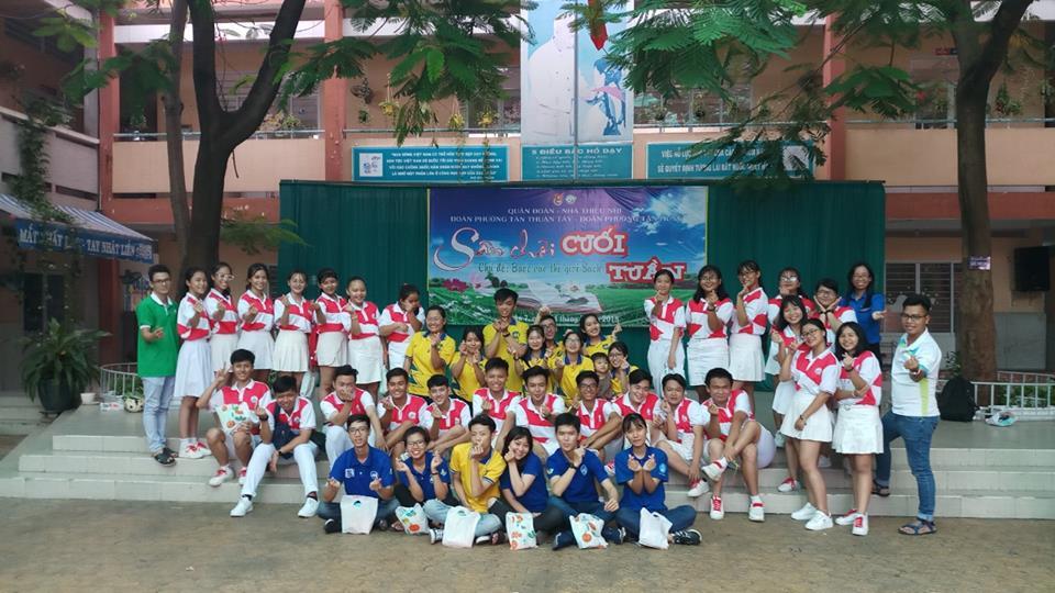 Tổ chức sân chơi cuối tuần Đợt 3 - Phường Tân Thuận Tây và Tân Hưng