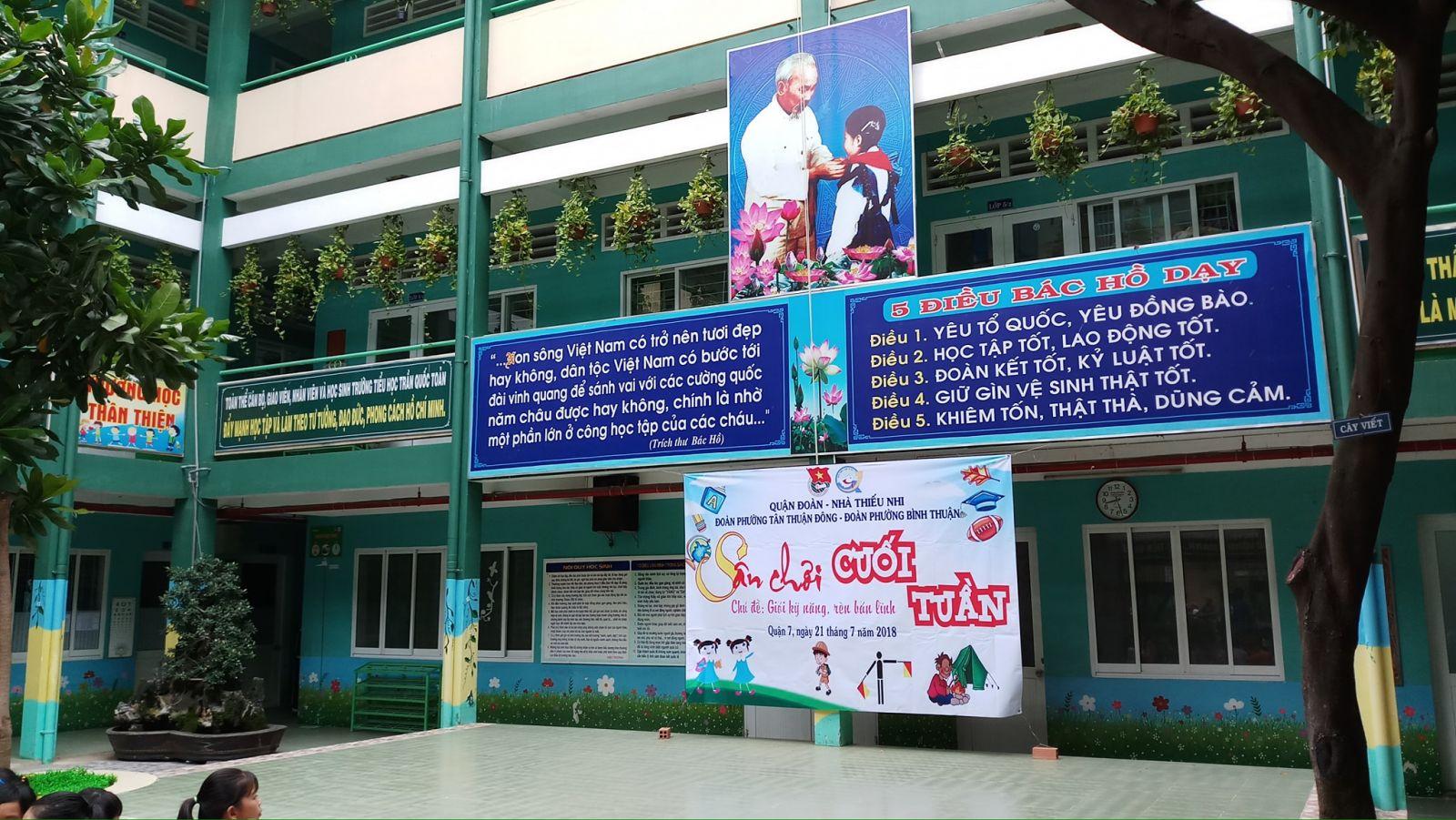 Tổ chức sân chơi cuối tuần Đợt 4 - Phường Tân Thuận Đông và Bình Thuận