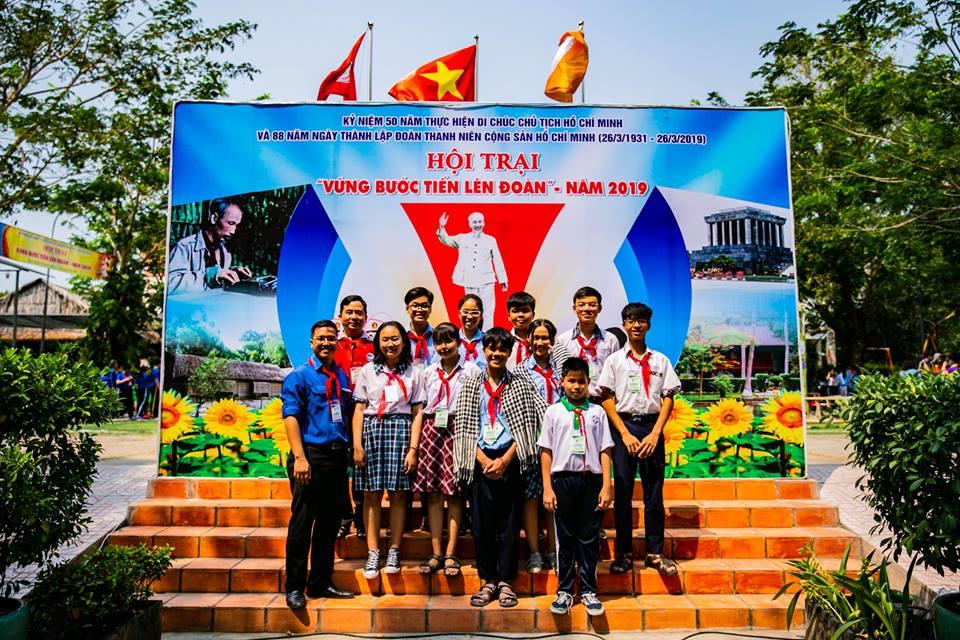 Hội trại Vững bước tiến lên Đoàn năm 2019