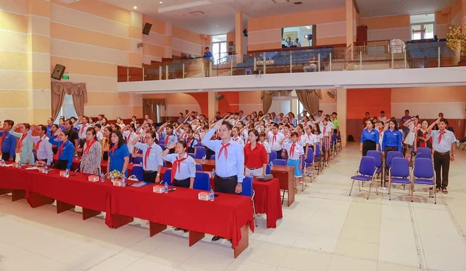 Đại hội Cháu ngoan Bác Hồ cấp Quận