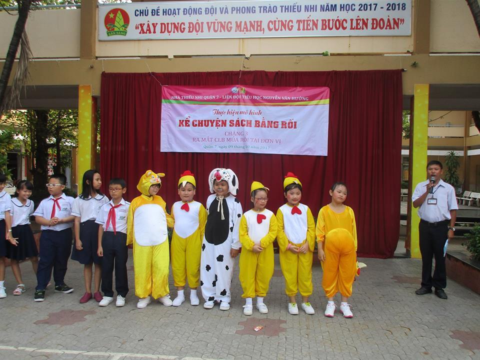Ra mắt CLB Kịch Rối tại các trường