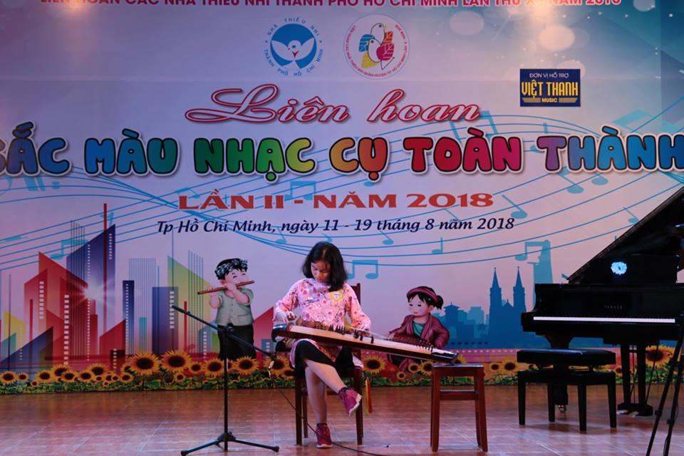 Tham gia Liên hoan sắc màu nhạc cụ toàn thành năm 2018