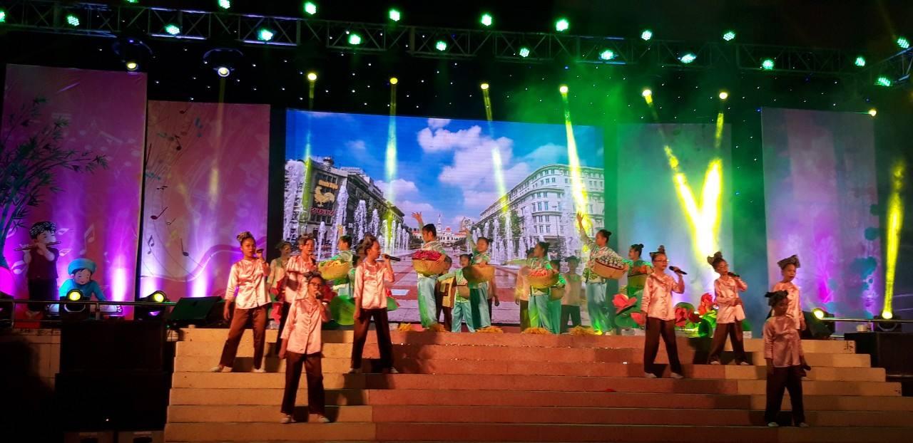 Tham gia Liên hoan Em yêu làn điệu dân ca năm 2019